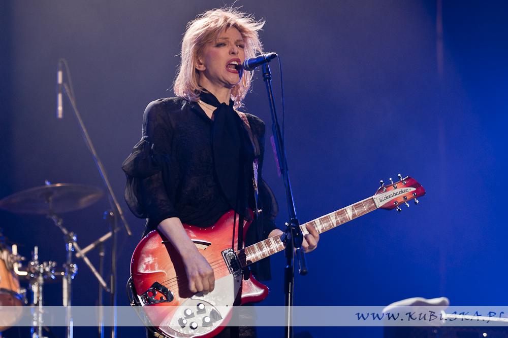 Courtney Love & Hole na Orange Warsaw Festival 2010, fot. Konrad Kubuśka