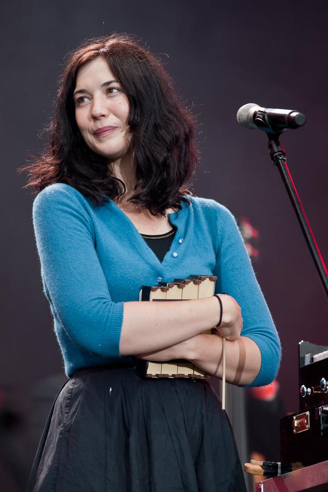 Lisa Hannigan na Orange Warsaw Festival 2010, fot. Konrad Kubuśka