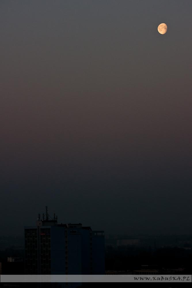 Księżyc od strony południowej