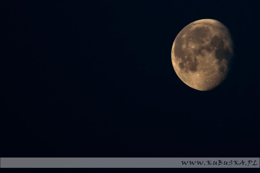 Księżyc od strony południowej, fot. Konrad Kubuśka