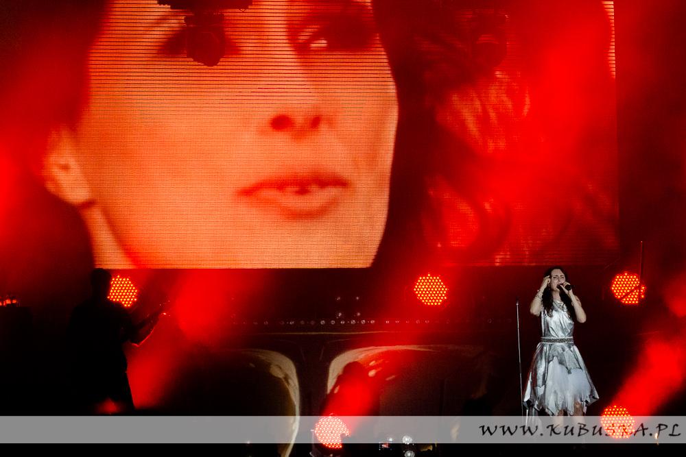 Czyżynalia 2013, Within Temptation, fot. Konrad Kubuśka