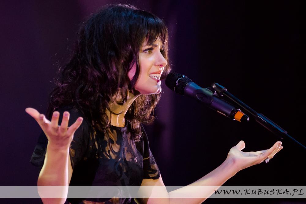 PRESTART LFO 2013 - Katie Melua, fot. Konrad Kubuśka