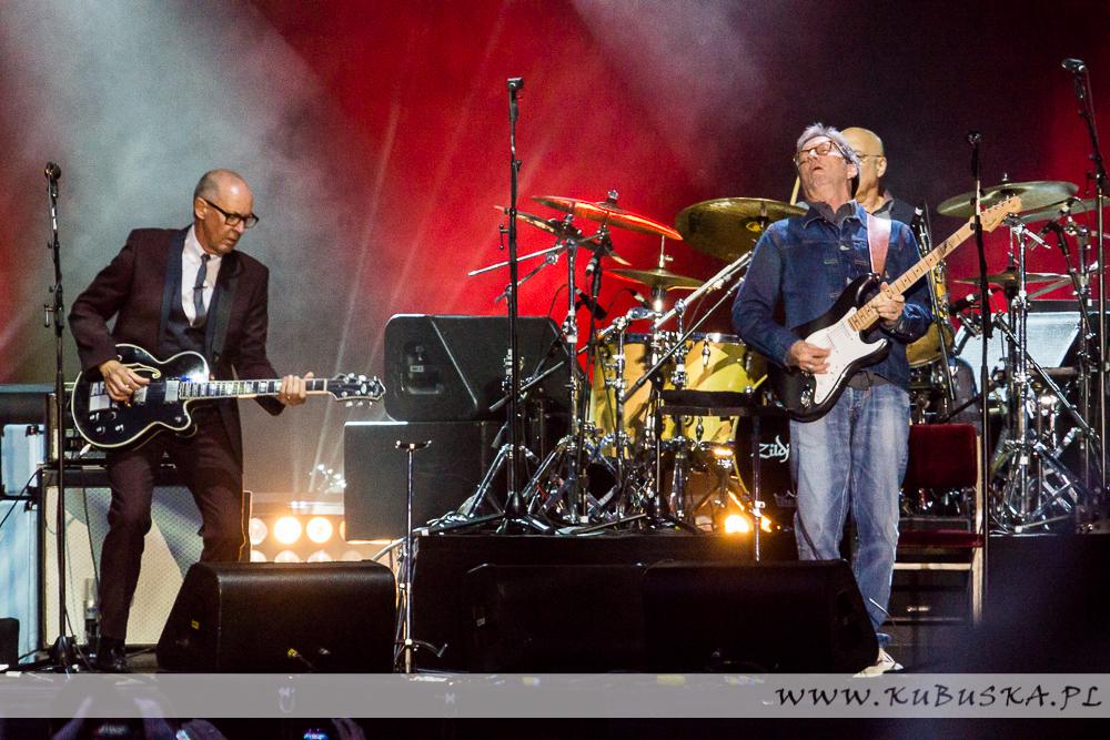 LFO 2014, Eric Clapton, fot. Konrad Kubuśka
